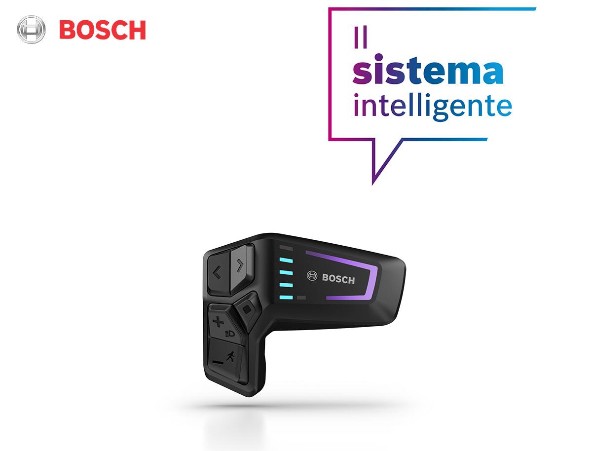 Dettaglio del Remote LED sviluppato da Bosch per controllare l'intero drive system