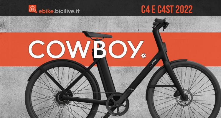 La nuova linea di ebike urban Cowboy 4 2022
