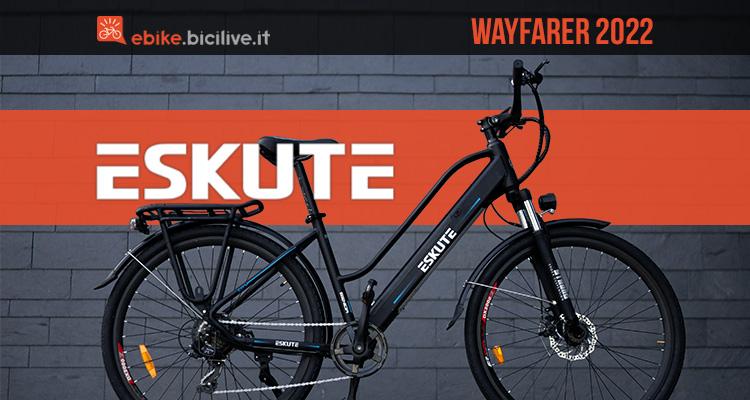 La nuova ebike da città Eskute Wayfarer 2022