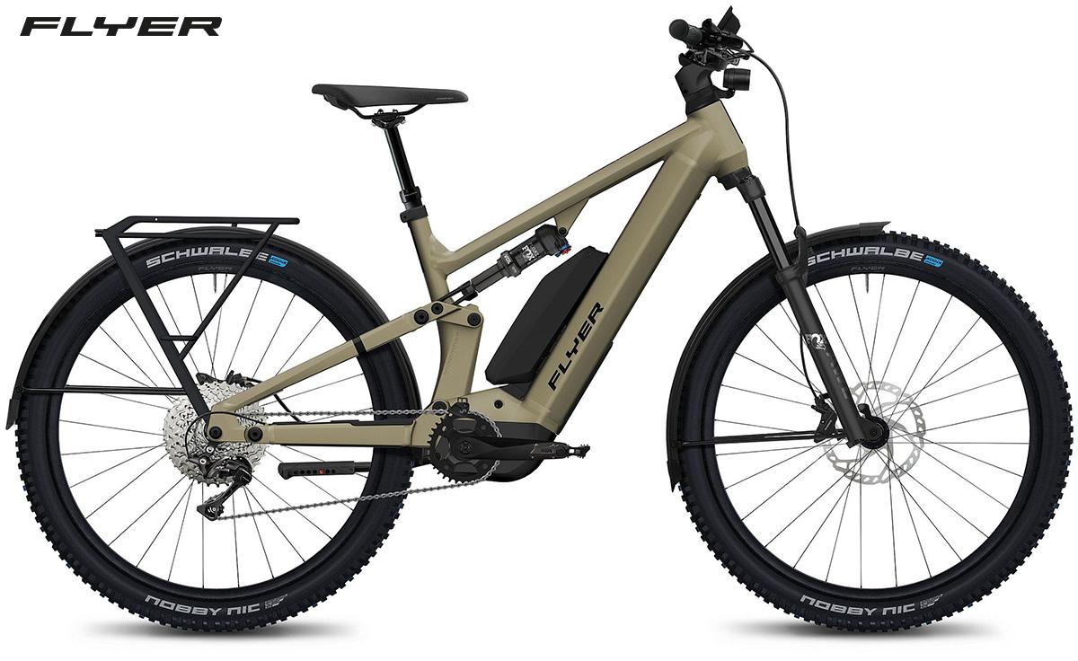 La nuova ebike da trekking Flyer Goroc X 2022
