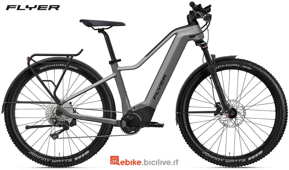 La nuova bici elettrica da trekking Flyer Goroc2 2022
