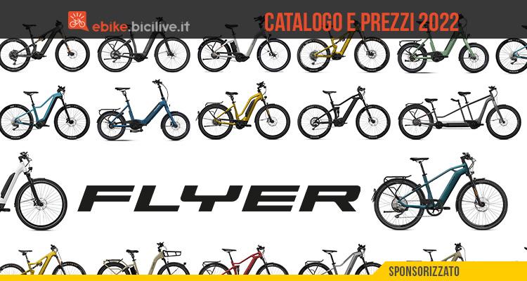 Il catalogo e i prezzi delle nuove ebike Flyer 2022