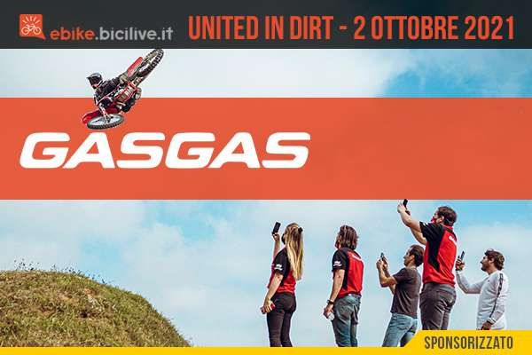 Il 2 ottobre 2021 sbarca in Italia l'evento Gas Gas United in Dirt