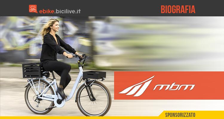 La biografia dell'azienda Cicli MBM produttrice di bici urban