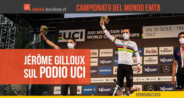 Jérôme Gilloux è il Campione del Mondo UCI e-MTB 2021