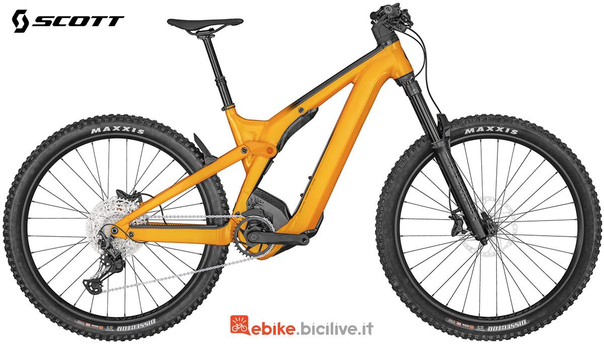La Scott Patron eRide 920 in colorazione Orange