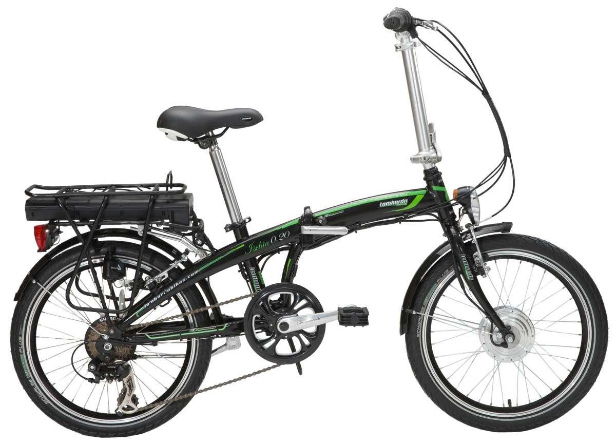 La bici pieghevole a pedalata assistita e-Ischia020