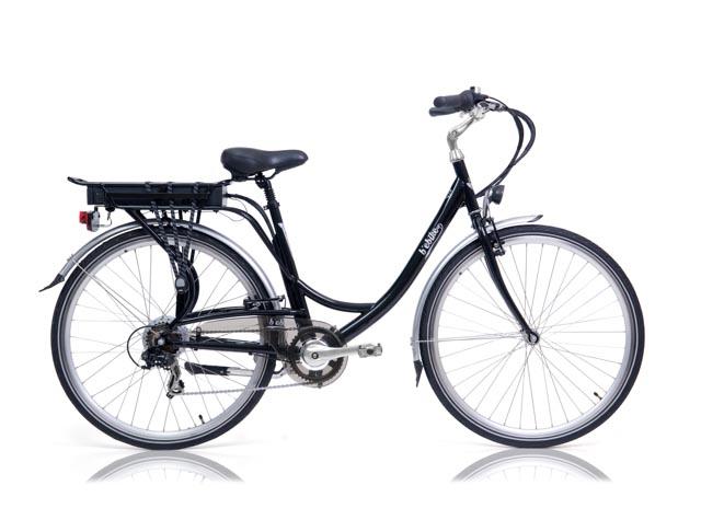 Una bicicletta elettrica Bebike7