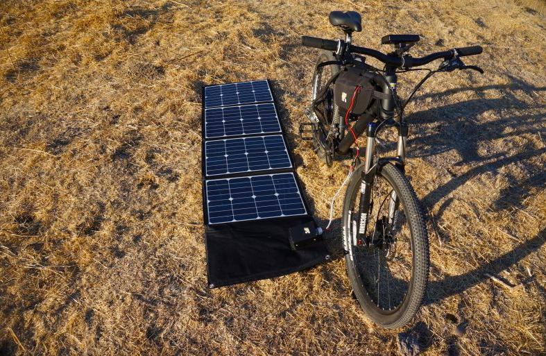 Pannello Solare Per Ebike : Hpc suncaptured pannello solare per ebike