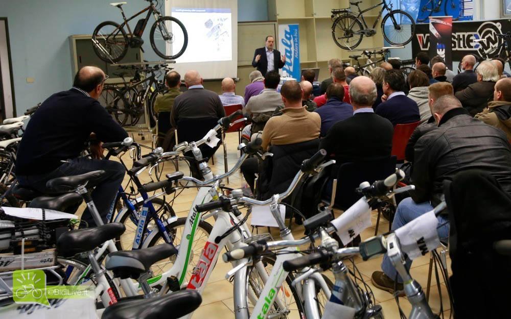 Una conferenza Bosch piena di spettatori interessati