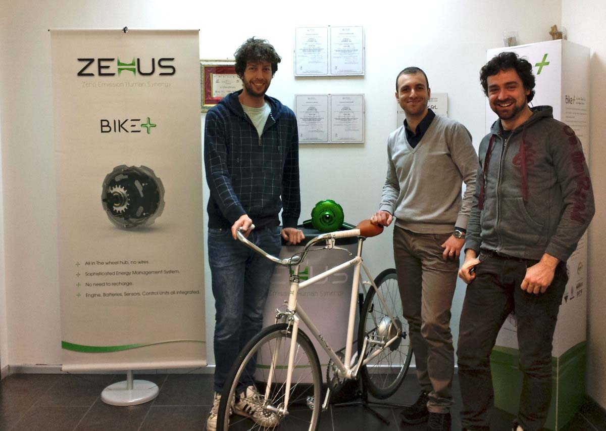 Il team dietro il kit Bike+